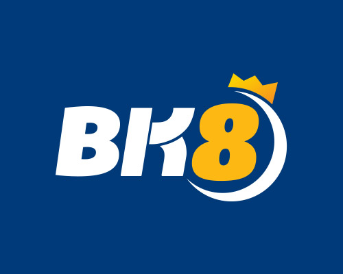 BK8 logo in Blue background