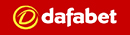 Dafabet logo in Red background